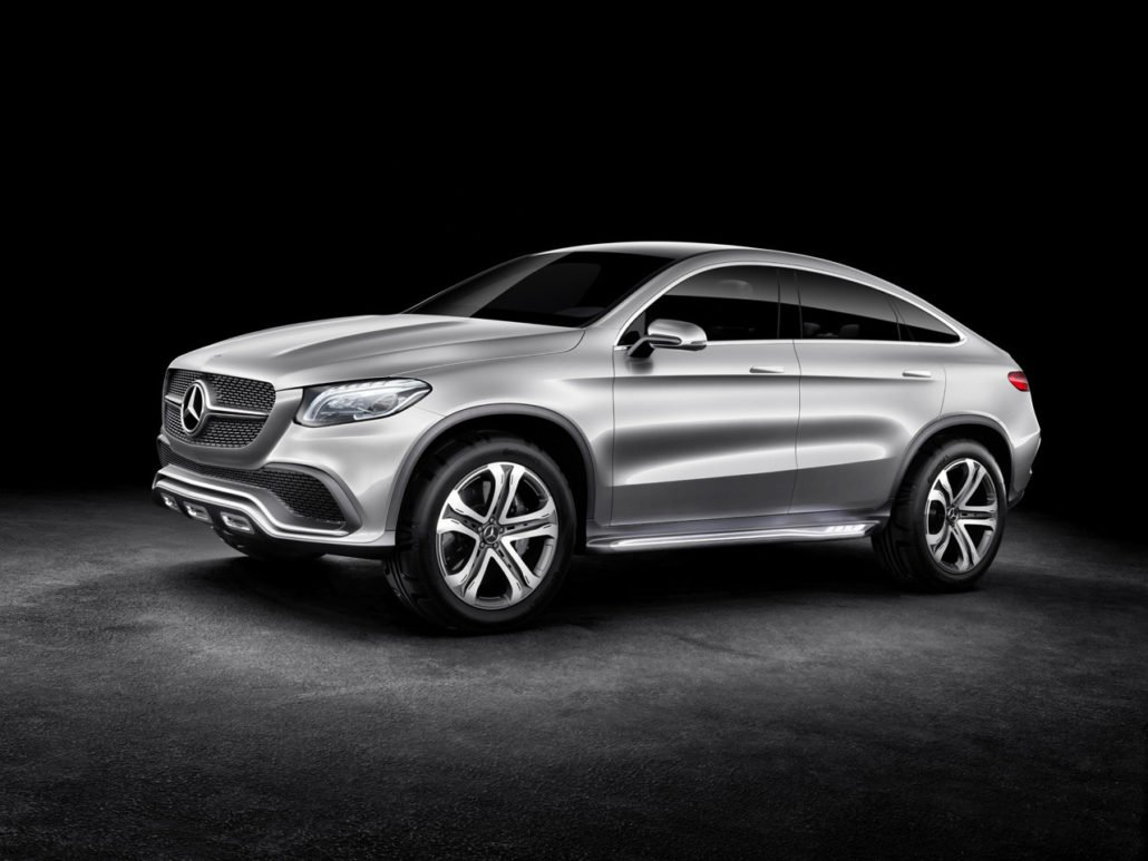 4x4 mercedes concept coupe suv kladivo na bmw x6 for Mercedes benz coupe suv